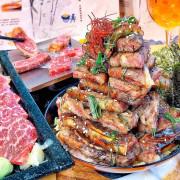 《台中*嵐山熟成牛かつ專売 》澎湖發跡的職人牛排,浮誇到不行的肉肉丼飯 VS 炸牛排!不用飛日本,台中也吃得到職人牛排!(附菜單、環境)