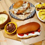 【新竹早午餐】漢堡吐司裡的厚切手作豬排《Miho 美好食日所》季節限定草莓餐包