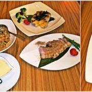 越夜越精彩的『台北中山區美食』狂男精肉小酒館美食激推之餐點自由配 現烤明太子雞腿與新鮮的海鮮炒飯+韓式泡菜給你滿分雙重的視覺與味覺饗宴~~