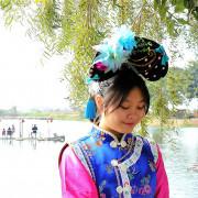 【台南景點】老塘湖藝術坊。隱藏在台南學甲的古城鎮,幽靜絕美的世外桃源,瞬間穿越到清朝當格格