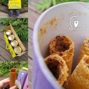 【餅乾零食】三峽祖師廟旁的38熊手工蛋捲 宅配團購蛋捲 台北伴手禮