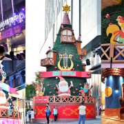 台南下雪囉!童話北歐風12尺高幸福聖誕樹,繽紛亮麗點亮南紡購物中心,Hello XMAS、親子旅遊 - 跟著尼力吃喝玩樂&親子生活