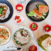台中美食 Phowong 旺旺美越河粉|百貨裡也能品嚐到來自越南的好味道!秀泰廣場台中站前站美食、台中美食、台中越南料理