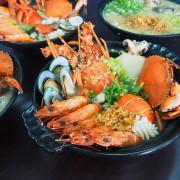 粥霸海鮮粥品,海底世界裡面吃粥!吃澎湃海鮮還能跟龍宮彩繪牆拍照打卡!