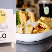 台中南屯│朝朝GLO Breakfast-白色系網美早午餐店 - 藍色起士的美食主義