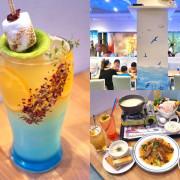 ★台南新營★【努逗風味館】希臘海洋風好停車台南親子餐廳。