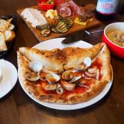 Pizzeria L'angolo角度義棧,黎明新村鄉村風小餐館,正統拿坡里披薩,山海一片天海陸通包~
