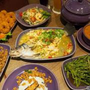 NARA Thai Cuisine台中中友店,連續多年榮獲最佳泰國料理餐廳,金錢蝦餅蓬鬆空氣感超讚~