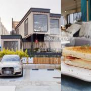 台中西屯│米石里-除了輕食,還有居家石材和實木設計傢俱的展示,空間美學自己來 - 藍色起士的美食主義
