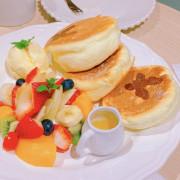 【台中 鬆餅】flipbakery翻轉甜點(台中店),蓬鬆的雞蛋糕鬆餅,每嚼一口充滿空氣感的彈力伴隨蛋香噴發
