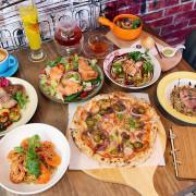 台中西屯默爾義大利餐廳JMall店,義大利麵、燉飯、手工窯烤披薩都好吃