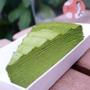 第16個抹茶千層蛋糕:赤心 Pure Dessert,宅配市集甜點,小山園若竹抹茶