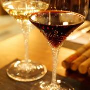 [Merandi 奧地利頂級手工酒杯] 台北 大安 Cantina del Gio 北義柴燒碳烤餐酒館 餐酒會 頂級手工酒杯 鑲了910顆施華洛世奇