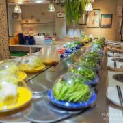 【台中】街喜鍋-時尚迴轉鍋物|來自新加坡的網美風火鍋店|一中商圈美食