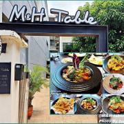 《桃園庭園咖啡美食》假日遠方好友來聚的美食/義式美食料理/休閒庭園咖啡館/『M&H table』