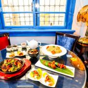 台南蔬食-赤崁璽樓|和洋式老建築品嚐美味創意料理!無菜單料理台南素食