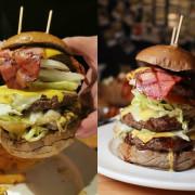 (忠孝敦化站/忠孝復興站)東區美式餐廳-Stan & Cat 史丹貓美式餐廳,快來挑戰高度超過20公分高5.5OZ超大漢堡