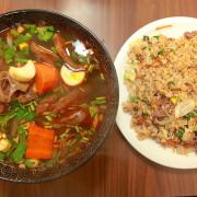 吃。台南|東區。巷弄傳美食,新店報報,很有實力的越南美食「戀戀河粉」。