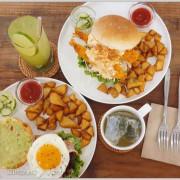 台北信義吳興商圈【WAKU WAKU BURGR わくわく】日式漢堡早午餐‧一抺小清新!!
