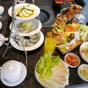 【台中西區素食】將進酒-素 燒烤殿vegetarian BBQ,質感裝潢與菜色,讓吃素食有品味有樂趣