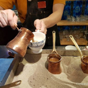 台北大安/永康【Saturn Landing Turkish Coffee 登陸土星土耳其咖啡】神秘異國風~用砂爐煮咖啡!!