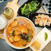 微風南山美食 這味泰泰 Mrs. Thai 高CP值泰式經典小吃 泰式拉麵 東央酸辣 和牛泰蔥丼 這味泰泰菜單