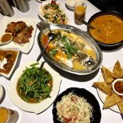 台中中區・異國料理|泰星動泰式料理|鄰近台中火車站、錢櫃正對面的平價泰式料理,還有提供商業午餐!