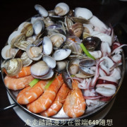 內湖【蒸霸王】東湖海鮮餐廳,蒸氣海鮮塔,鮮味抵家