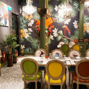 ★高雄鼓山★【花樹全食物餐廳】猶如置身熱帶雨林的健康饗宴/美術館餐廳。