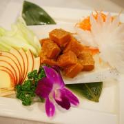 台中沙鹿美食推薦~30年金字招牌梅子餐廳的彭湃海鮮料理 自家自製的野生烏魚子角切讓人驚艷無比 明年過年的年菜烏魚子就是這家了