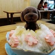 【台灣,高雄,瑞豐夜市美食】可愛到不知該如何下手的貴賓狗雪花冰~雪花殿,瑞豐旗艦店(SNOW ICE HALL)。