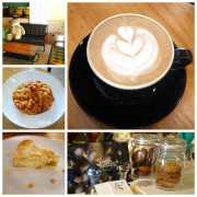【台中美食】大里咖啡PPM。隱藏住宅區內的咖啡甜點屋,適合安靜閱讀的咖啡廳,店內有無限WI-FI、 每個位置都有充電插座。