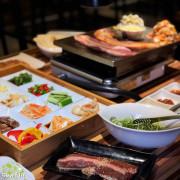 【台北美食】燒肉生菜包肉綾aya 日式職人精神的韓式燒烤店 新鮮生菜跟芝麻葉吃到飽 還有泡菜鍋跟愛心炒飯