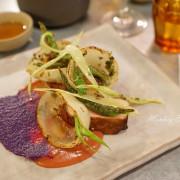 【台中北區】座落巷內的精緻歐陸料裡『Plate 餐盤上』-結合文藝空間的美味餐酒館|約會餐廳推薦