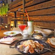 0618咖啡餐酒館&奎咖啡 峇里島風格戶外座位區 東區餐酒館 不限時咖啡廳 忠孝敦化下午茶 台北餐酒館