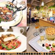 【食】中山誠品/Engolili英格莉莉輕食館/英倫情人套餐/話題豹紋厚鬆餅