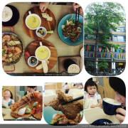 {台中美食}台中火車站美食:五南書局首推「WOW Eat&Book」複合式餐廳,一邊悠閒看書享受五星級料理,二樓還有親子活動空間超推薦
