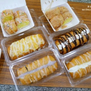 龍潭美食︱點食成金炸銀絲卷專賣~顛覆傳統口味,甜鹹口味都有還可以互相搭配