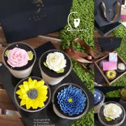 【蛋糕甜點】最漂亮的花獻給最漂亮的媽媽 藝雀 ArTit 手繪乳酪甜點 莎莉絲特-提拉米蘇X乳酪裱花