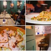 Creative Pasta 創義麵 錦州店 ▏30多種創意義大利麵 顛覆你的味蕾。美式工業風裝潢 用餐氣氛超歡樂輕鬆。捷運中山國中站