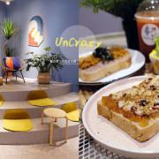 台中霧峰│UnCrazy這裏勿瘋-霧峰人氣韓系網美打卡早午餐店,柔和藍色舒適空間 - 藍色起士的美食主義