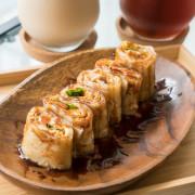 台北日式早午餐 沐沐家朝食 日式烤飯糰vs.台式三杯雞蛋餅