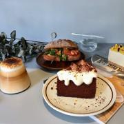【台北|大直站】弎祿_伯爵巧克力戚風蛋糕讓人為之瘋狂_軟嫩的厚蛋、鮮美的小蝦搭配外酥內軟的麵包很優秀