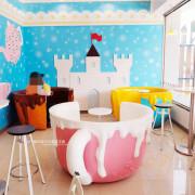 台中后里│7-11后旺門市-粉嫩色夢幻咖啡杯座,喜歡哪一個 - 藍色起士的美食主義