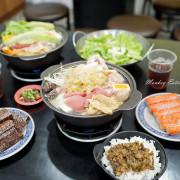 【台中潭子】用料滿滿平價個人小火鍋『上品味小火鍋』。獨家肉燥飯超香 白飯、飲料、冰淇淋吃到飽