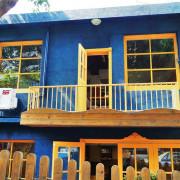 【台北芝山站   咖啡廳】有緣才能相遇的可愛獨棟藍色小屋ღ遇見小屋