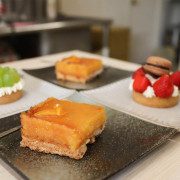 (桃園甜點)羽森手作甜點龍崗大操場旁低調的手作甜點店,蛋糕,餅乾,喜餅,彌月,客製化蛋糕,IG打卡,下午茶甜點