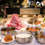 【永安市場站火鍋】肉老大頂級肉品涮涮鍋 中和美食豪華海鮮大份量肉品 鍋底多樣化推薦麻辣火鍋