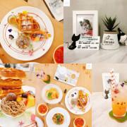 【台北松山】夏綠地咖啡 | 超美平價貓咪咖啡廳!網美文青拍照打卡下午茶店推薦