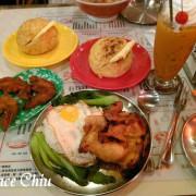 美天餐室 Day Day Happy Food~懷舊港味裝潢,複合風味泰式茶餐廳